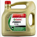 "CASTROL ""POWER 1 Racing"" 4T 10W-40 'JASO MA' Spec' For Road & Track 4Ltr"